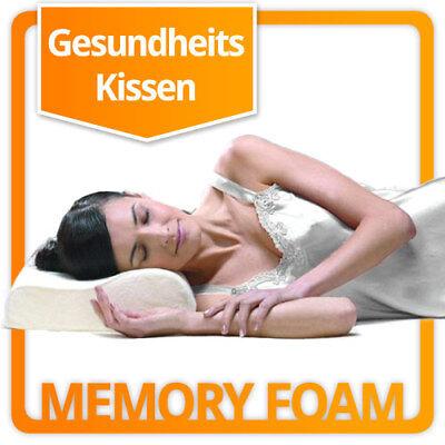 Orthopädisches Viscoschaum Thermoschaum Nackenkissen Kopfkissen Thermo Memory ()