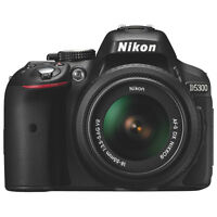 Nikon D5300 Wi-Fi 24.2MP NIKKOR 18-55mm VR II Lens Kit NEUF