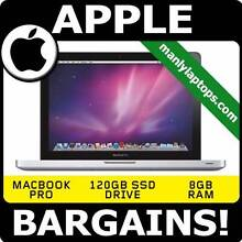 APPLE MACBOOK PRO i7 120GB SSD DRIVE - ULTRA FAST AMAZING LAPTOP! Pyrmont Inner Sydney Preview