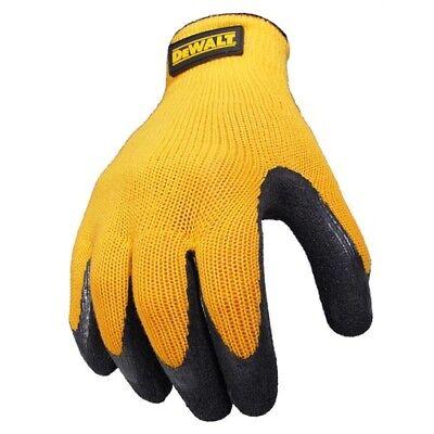 Dewalt Textured Rubber Coated Work Gloves Grip Dpg70