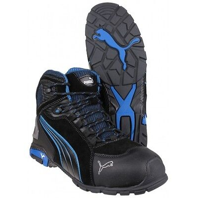 PUMA Rio Mid Safety Boots (Black) S3 Rated