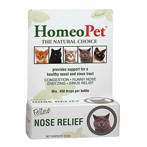 HomeoPet Feline Nose Relief One Size