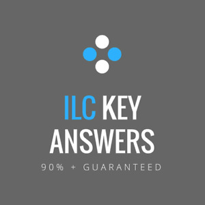 ILC KEY ANSWERS 2018 GRADE 11 & 12 COURSES (SAMPLES PROVIDED)