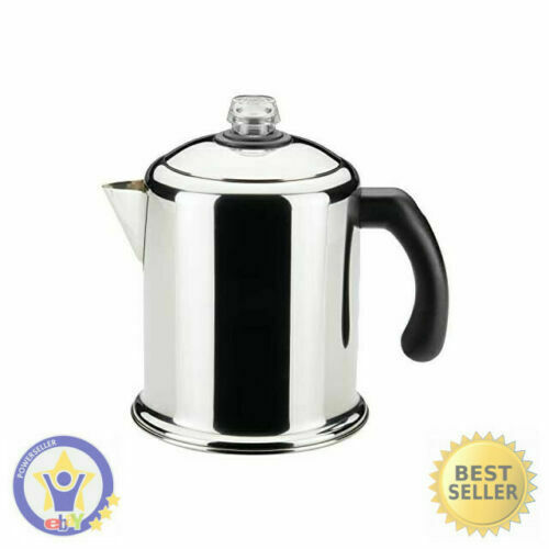 Heavy Duty Stove Top Percolator Yosemite Coffee Pot Maker 8-