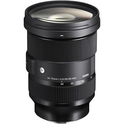 Sigma 24-70mm f/2.8 DG DN Zoom Lens for Sony E-mount *USA AUTHORIZED DEALER*