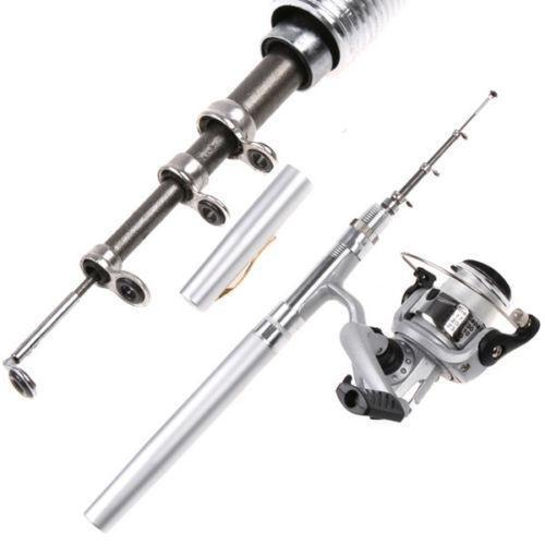 Telescopic fishing rod reel ebay for Ebay fishing poles
