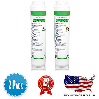 2 Pack Ge Fqsvf Compatible Water Filter