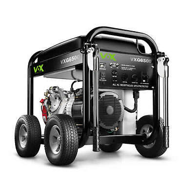 VOX 6500 Watt Pro Series Portable Generator GX390 Honda #30557