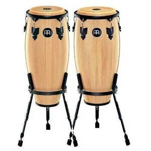 congas with stands - 10 and 11 Natural
