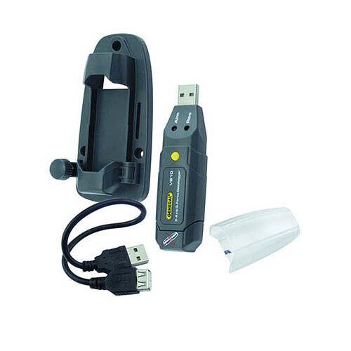 General Tools VB10 3-Axial Datalogging USB Vibration/Accel Meter