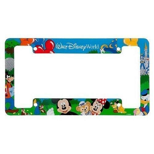 disney license plate frame ebay