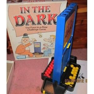 In the Dark-  The-four-in-a-row challenge game