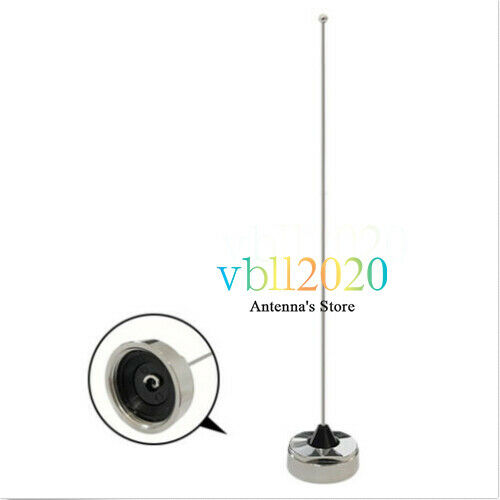 VHF 136-155 MHz 39cm NMO Mount Antenna For Motorola Mobile Bus Car Radio