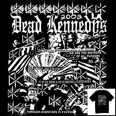 Dead Kennedys T-Shirt 80s Vintage Style Hardcore Punk Rock Size S-6XL - 80s Punk Rock Fashion