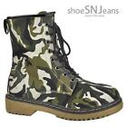 Army Canvas Boots