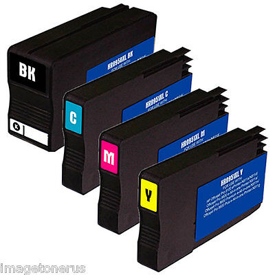 4 Pack Ink Set For Hp 950xl 951xl Officejet Pro 8610 8615...