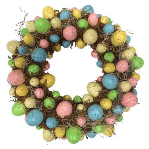 Easter Egg Wreath Ebay