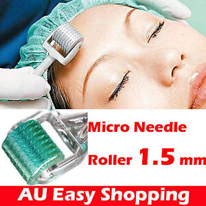 1.5mm Derma Micro Needle Skin Roller for Scars Wrinkles Cellulite home beauty