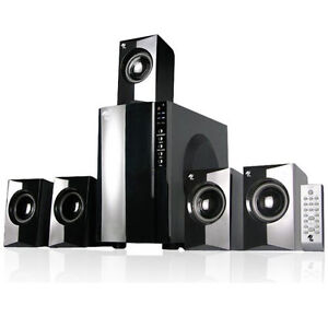 MA Audio MA5806 Surround Sound 800W 5.1 Home Theater Multimedia Speaker System