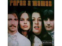 MAMAS & PAPAS Original rare Vinyl 1968 in Mono