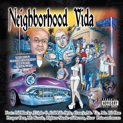 Neighborhood Vida  The Best Of Chicano Rap Songs  Rare Hard Copy