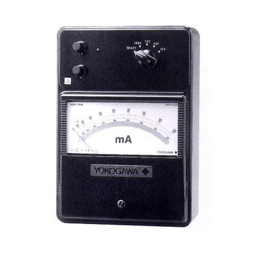 Yokogawa 201601 High Frequency Ammeter, 5/10/20/50 mA, 375 mV