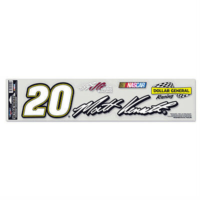Matt Kenseth  20 Dollar General Nascar Ultra Decal 4 X17  Long