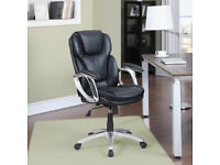 True innovations black office chair new in box