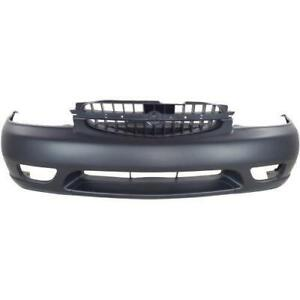 1998-2001 Nissan ALTIMA Bumper Front Primed With Fog Light Hole CAPA