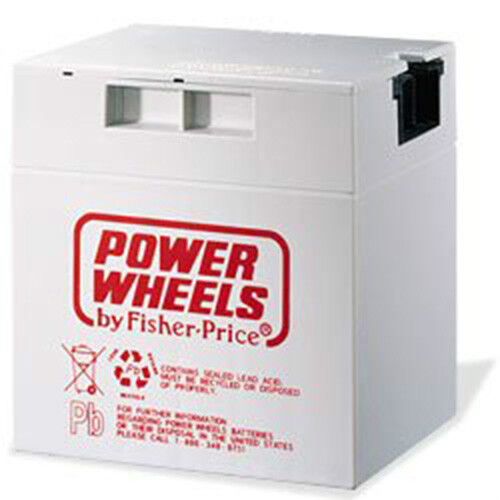 Cadillac Escalade - Power Wheels Rechargeable Battery Gray 12v 12Volt 00801-1869