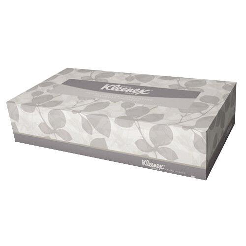 KCC21400 - Kleenex White Facial Tissue, 2-ply, Pop-up Box 36 Boxes