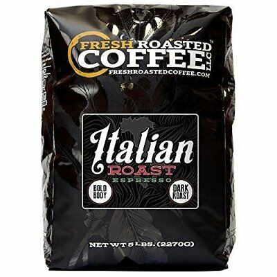 Italian Roast Espresso Coffee, Whole Bean Coffee, Fresh Roasted Coffee (Roast Whole Bean Coffee)