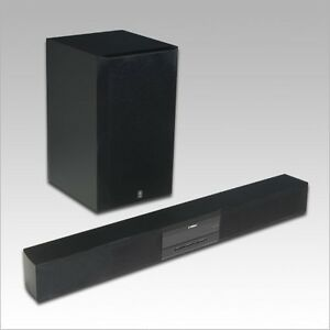 Yamaha Surround Soundbar and Subwoofer