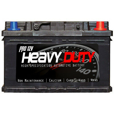 PROFESSIONAL HEAVY DUTY 096L Car Battery - Fits many Ford and Vauxhall Diesel