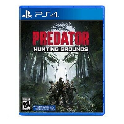 Predator: Hunting Grounds PS4 - For PlayStation 4 - ESRB Rated M (Mature 17+) -