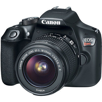 Canon Eos Rebel T6 Dslr Camera With 18 55Mm Ii Lens 1159C003