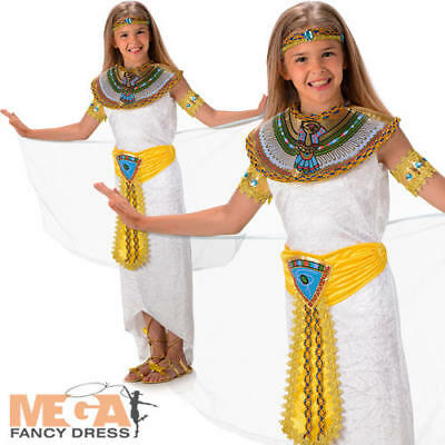 Ancient Egypt Costumes For Girls (Queen of the Nile Cleopatra Girls Fancy Dress Ancient Egypt Kids Childs)