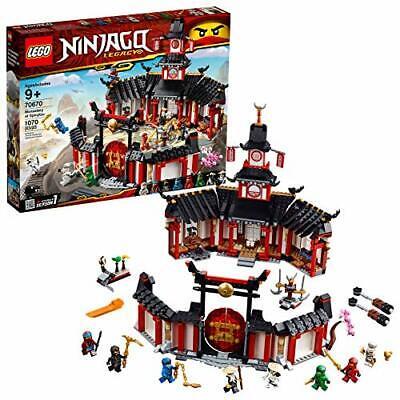 LEGO NINJAGO Legacy Monastery of Spinjitzu 70670 Battle Toy Building Kit