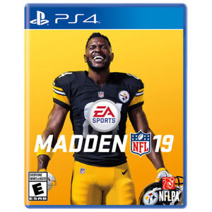 BRAND NEW sealed MADDEN NFL 19 for PS4 on sale in store!