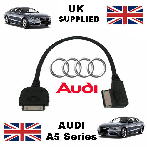 AUDI A5 AMI Pre 2009 4F0051510C For Apple iPhone 3gs 4 4s iPod Audio Cable