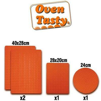 Oven Tasty Non Stick Silicone BBQ Grill Mat Oven Baking Tray Cooking Food Mat