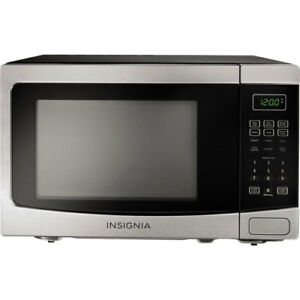 Insignia NS-MW12SS6 Countertop Microwave - 1.2 Cu. Ft. - Stainle