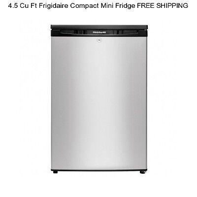 New 4.5 CU FT Compact Mini Refrigerator Office Dorm Freezer Cooler Small Fridge
