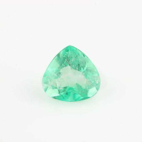 1.68ct Natural Green Beryl Gemstone - Loose Pear Vibrant Green