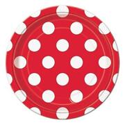 Polka Dot Party Plates