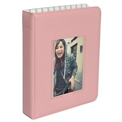 2x3 Photo Album (Polaroid 64-Pocket Photo Album w/Window Cover For 2x3 Photo Paper-)