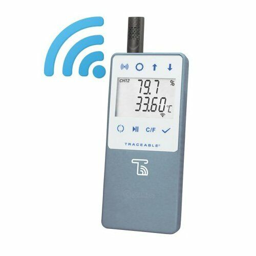 Control Company Traceable Wireless Refrig/Freezer Thermometer (6520)