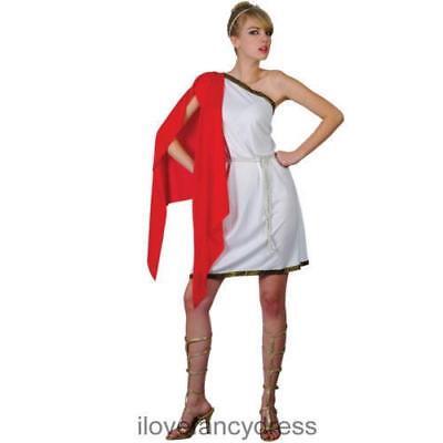DAMEN RÖMISCHES  VERFÜHRERIN GRIECHISCHE GÖTTIN TOGA MODISCHES KOSTÜM - Römische Griechische Toga Kostüm