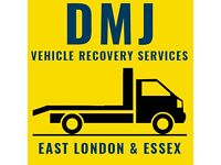 DMJ VEHICLE RECOVERY SERVICES-TOWING SERVICE FROM£30 EAST LONDON£30 N ESSEX£30,COPART£30,HBC£30