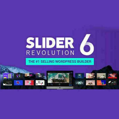 Slider Revolution Responsive Wordpress Plugin - Latest - Lifetime - No Key-2020